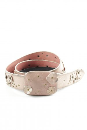 Hugo Boss Leather Belt dusky pink-taupe second hand look