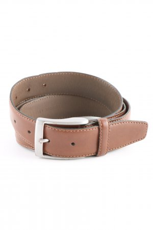 Hugo Boss Leather Belt brown business style