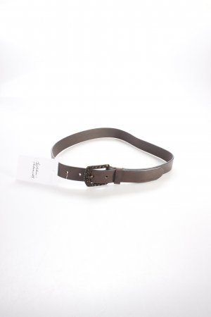 Hugo Boss Leather Belt dark brown
