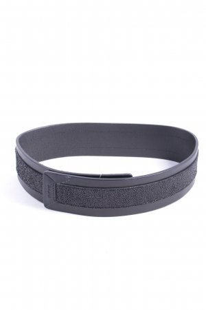 Hugo Boss Leather Belt black casual look