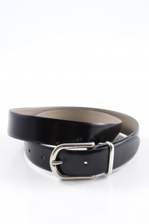 Hugo Boss Ledergürtel schwarz schlichter Stil