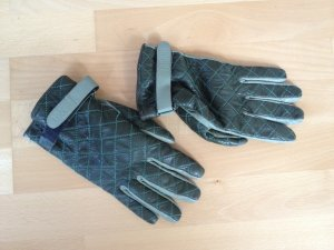 Hugo Boss Leather Gloves multicolored leather