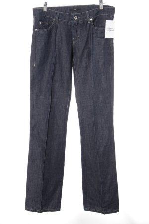 Hugo Boss Linen Pants steel blue jeans look