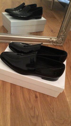 Hugo BOSS Loafer aus italienischem Lackleder