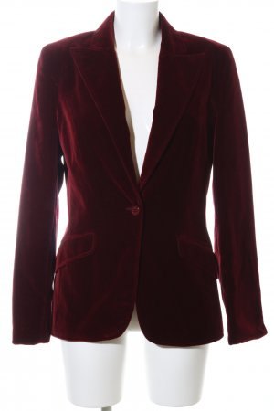 Hugo Boss Lange blazer rood zakelijke stijl