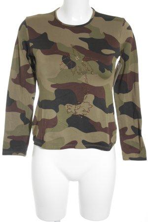Hugo Boss Longsleeve Camouflagemuster Casual-Look