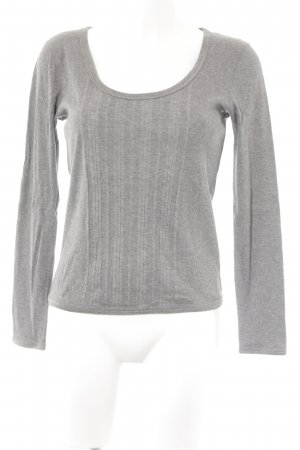 Hugo Boss Longsleeve grau Casual-Look