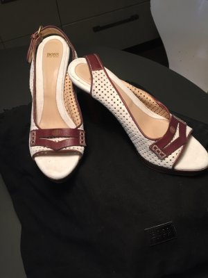 "Hugo Boss, ""Malaga"", High Heels, Wildleder"