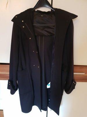 Hugo Boss Long Jacket black new wool