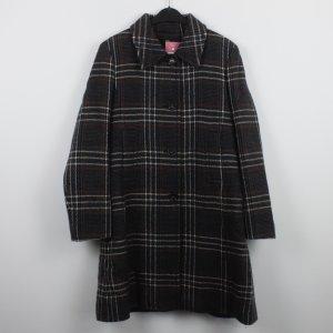 Hugo Boss Abrigo de invierno gris antracita-taupe tejido mezclado