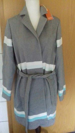 Hugo Boss Cappotto in lana multicolore Cotone