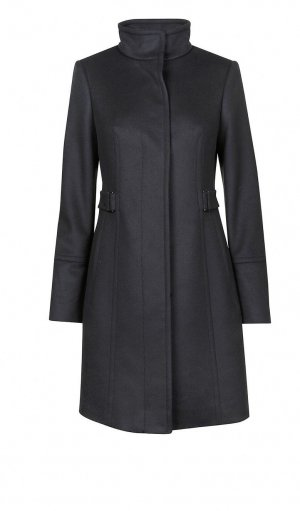 Hugo Boss Abrigo corto azul oscuro