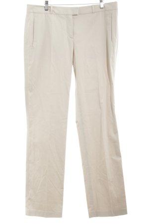 Hugo Boss Pantalón anchos crema estilo clásico