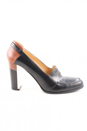 Hugo Boss Mary Jane Pumps black-brown business style