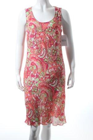 Hugo Boss Midikleid florales Muster 70ies-Stil