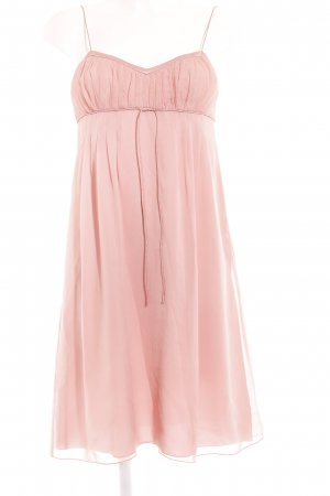Hugo Boss Midikleid rosa Casual-Look