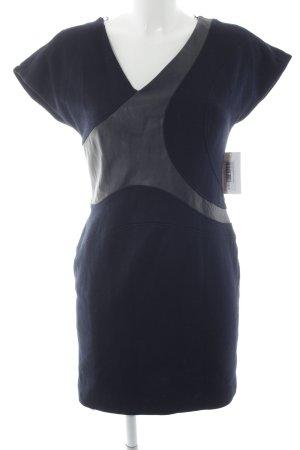 Hugo Boss Minikleid dunkelblau Business-Look