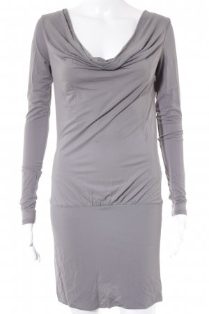Hugo Boss Minikleid grau Casual-Look