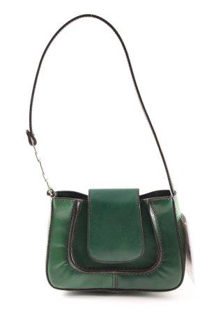 Hugo Boss Minitasche grün klassischer Stil