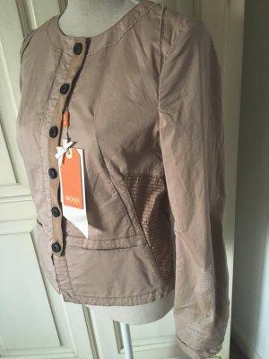 Hugo Boss Orange Jacke mit Stickereien ,Farbe Nude neu mit Etikett