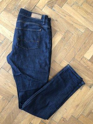 Hugo Boss Jeans cigarette bleu foncé