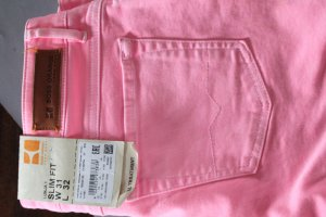 Hugo Boss Orange Jeans Röhre Model Luna1 Slim Fit pink rosa neu mit Etikett 31/32
