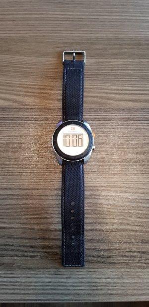 Hugo Boss Orange Unisex Armbanduhr Leder Stoff Digital