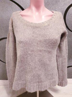 Boss Orange Wool Sweater rose-gold-coloured-light grey alpaca wool