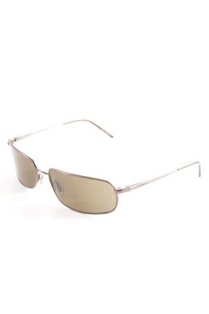 Hugo Boss ovale Sonnenbrille braun schlichter Stil