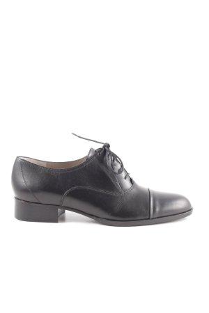 Hugo Boss Zapatos estilo Oxford negro estilo «business»