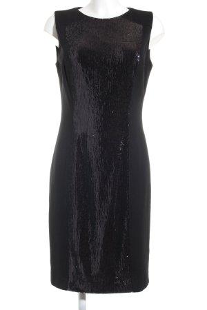 Hugo Boss Pailettenkleid schwarz Elegant