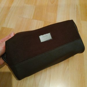 Hugo Boss Mini Bag silver-colored-dark brown
