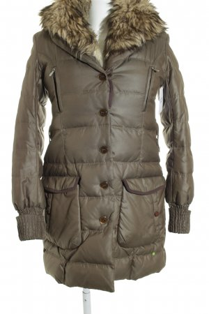 Hugo Boss Parka Steppmuster Casual-Look