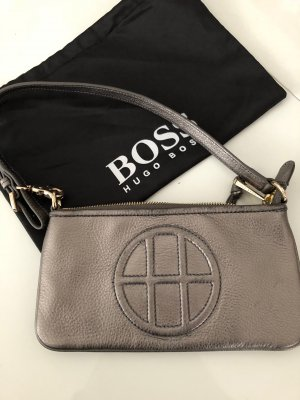 Hugo Boss Sac de soirée bronze-gris brun cuir