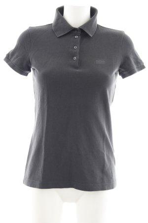 Hugo Boss Polo-Shirt dunkelgrau klassischer Stil