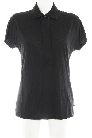 Hugo Boss Polo-Shirt schwarz Casual-Look