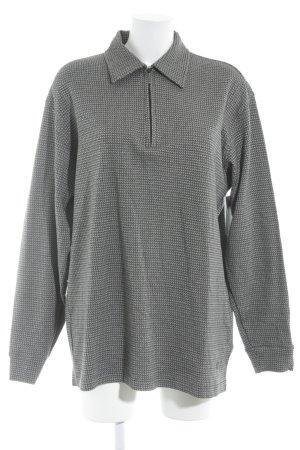 Hugo Boss Polo-Shirt schwarz-dunkelgrau Karomuster sportlicher Stil