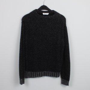 HUGO BOSS Pullover Gr. M schwarz grau (18/9/473)