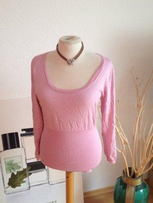 Hugo Boss Pullover, rosa, Gr XL - Seide