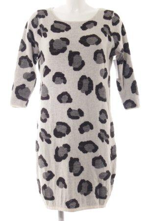 Hugo Boss Sweater Dress animal pattern animal print