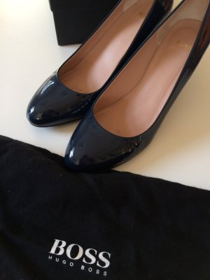Hugo Boss Pumps blau lack neu