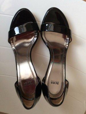 Hugo Boss Pumps Sandaletten 40 Lackleder