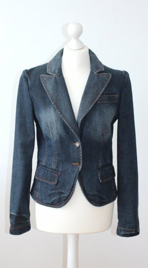HUGO BOSS Red Label - Jeansblazer im klassischen Denim Used Look