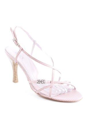 Hugo Boss Riemchen-Sandaletten rosa Elegant
