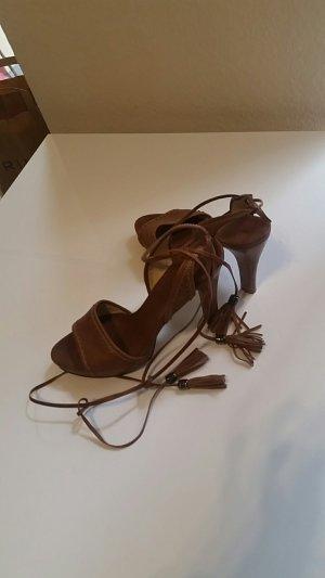 Hugo Boss High-Heeled Sandals bronze-colored-brown