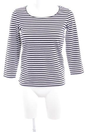 Hugo Boss Camisa de rayas blanco puro-azul oscuro look casual