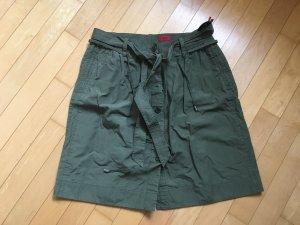 Hugo Boss Cargo Skirt dark green