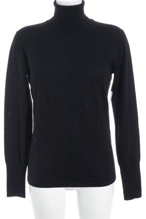 Hugo Boss Turtleneck Sweater black casual look