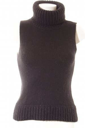 Hugo Boss Rollkragentop schwarz Casual-Look