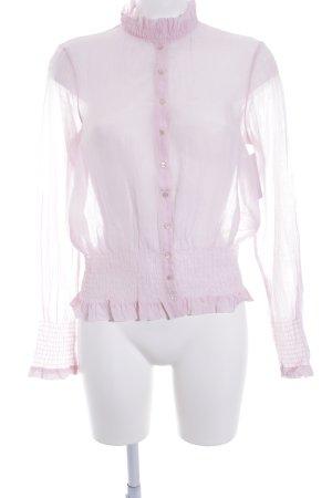 Hugo Boss Camicetta con arricciature rosa antico